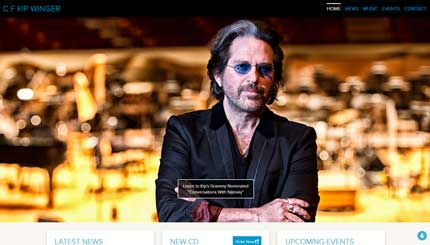 Website image for Kip Winger