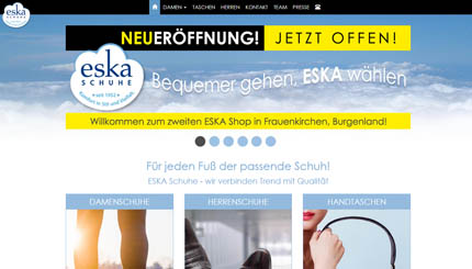 Website image for ESKA Schuhe